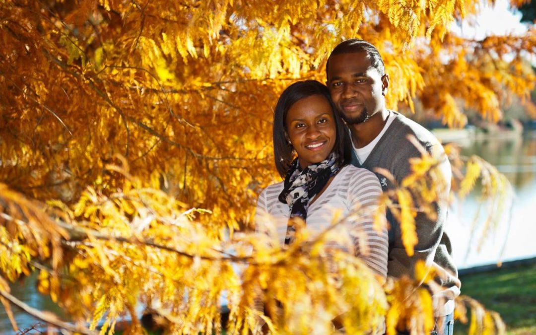 Engagement Session for Jumoke & Keith – Freedom Park, Charlotte NC