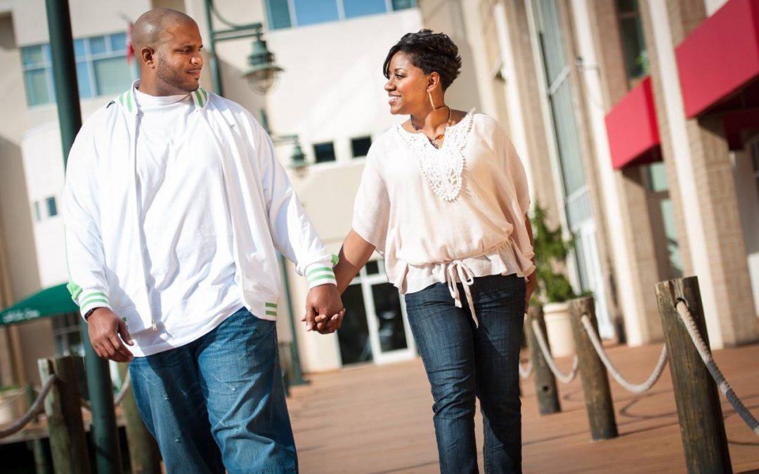 Allen & Petty Engagement Shoot at University Hilton, Charlotte NC